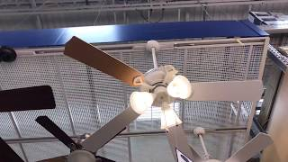 Ceiling fans and portable fans at Lowes 2017.