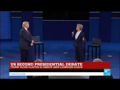 US Presidential debate: Hillary Clinton addresses Syria crisis