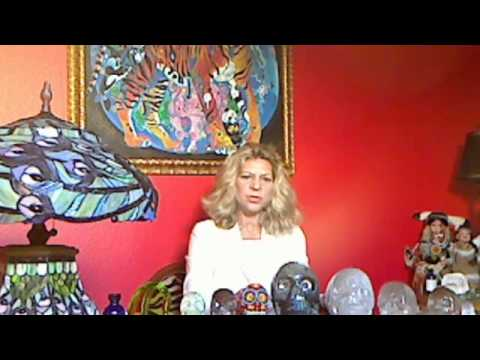 MELCHIZEDEK ENCODES CRYSTAL SKULLS WITH HEALING ENERGY