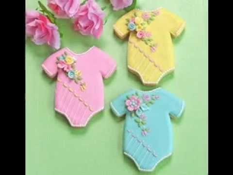 easy diy baby shower cookie decorating ideas, Baby shower