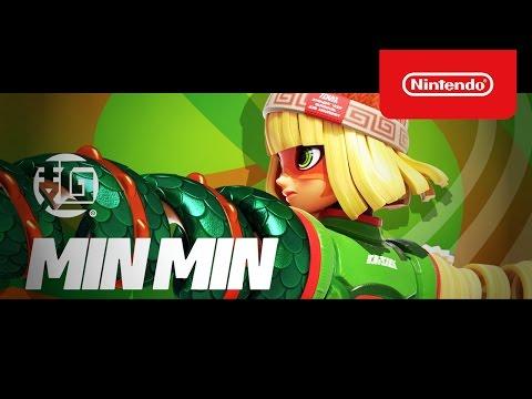 ARMS(アームズ):ミェンミェン参戦トレーラー