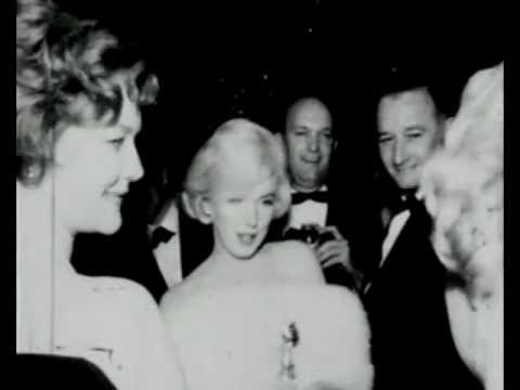 Marilyn Monroe - Hello Shelly Winters. 1960 Golden Globe Awards