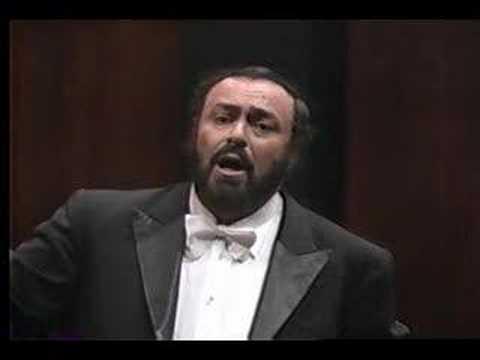 Pavarotti - Ma rendi pur contento- Bellini