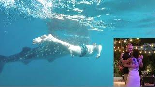 ميمي في بوراكاي | رقصة رومانسية مع زوجي ، الغوص مع اسماك القرش الضخمة !!