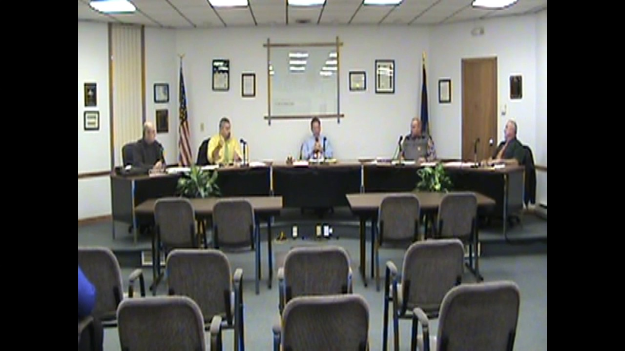 Rouses Point Village Board Meeting  12-19-16