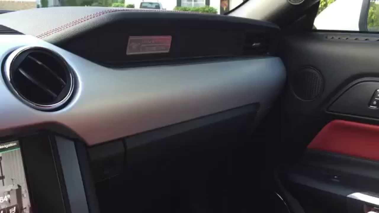 Mustang Gt Premium Hidden Compartments