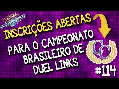 Inscrições abertas para a copa CC o Campeonato Brasileiro de Yu-Gi-Oh! Duel links!
