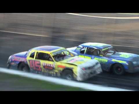 Hobby Stock Heat 2 @ Hancock County Speedway 07/07/17