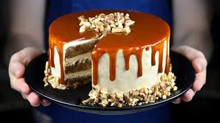 САМЫЙ ВКУСНЫЙ ТОРТ! РЕЦЕПТ МОРКОВНОГО ТОРТА С КАРАМЕЛЬЮ How to make carrot cake with caramel