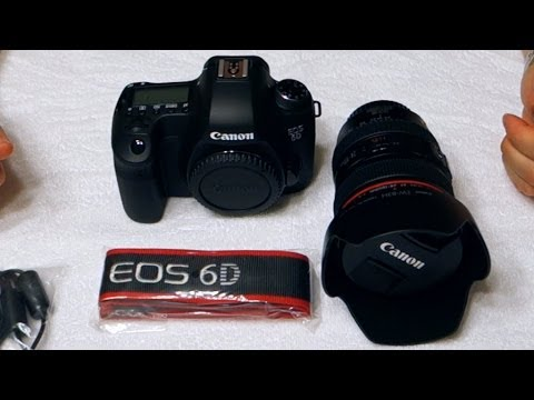 canon 6d full frame digital camera dslr w ef 24 105mm f4l is usm lens
