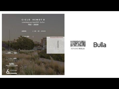Conferencias SurSur: Estudio Bulla para Arquitectura UDD SurSur, Concepcion.