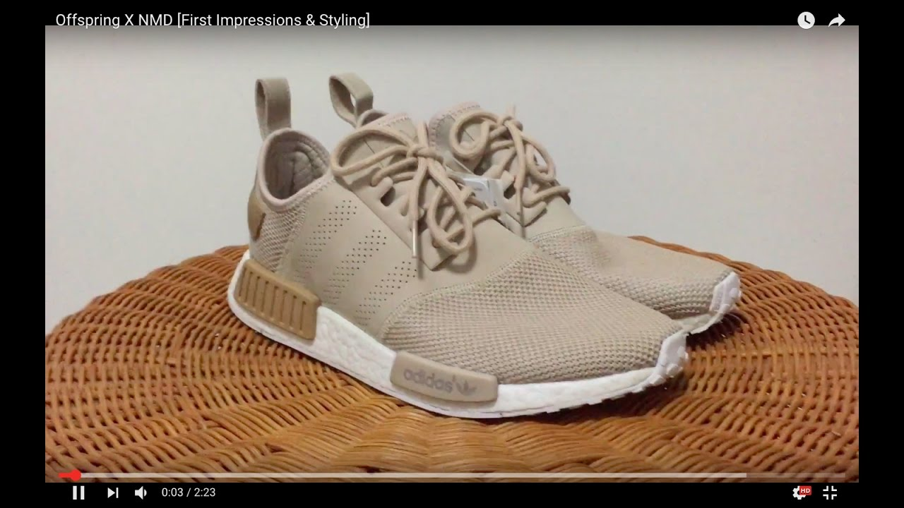 34bf9a01e69c9 Offspring X NMD  First Impressions   Styling  - YouTube