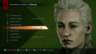 Dragon Age: Inquistion - Character Creation Video