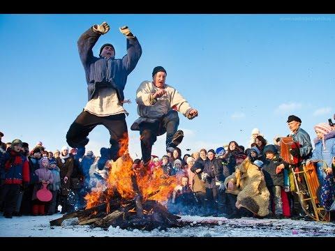 Русские народные праздники  Проводы масленицы