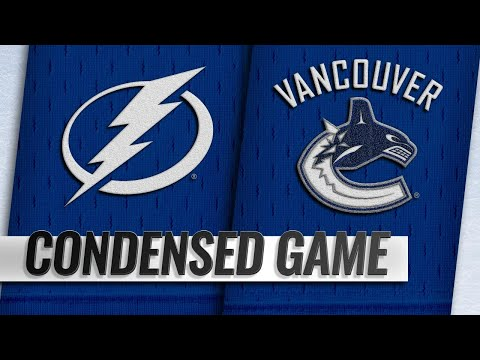 12/18/18 Condensed Game: Lightning @ Canucks