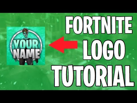 HOW TO MAKE PRO FORTNITE LOGOS ON IOS
