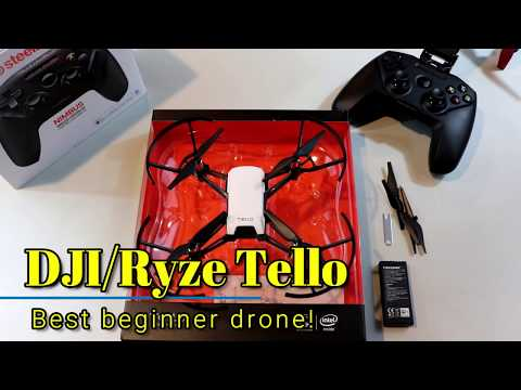 DJI/Ryze Tello -  Best toy/beginner drone, and the competition isn't close!