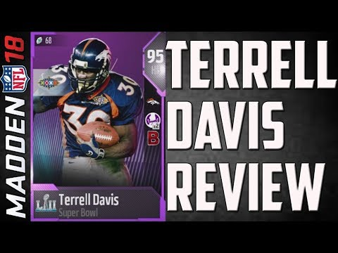 How Good is 95 Overall Terrell Davis? MUT 18 Card Review