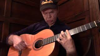 Why Bach Fugue (Bwv 1000) Sounds Better on a Flamenco Guitar than a Classical One.