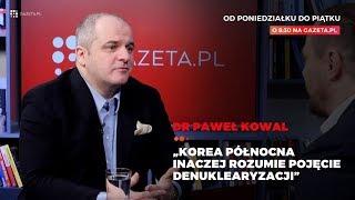 Paweł Kowal: Korea Północna inaczej rozumie pojęcie denuklearyzacji