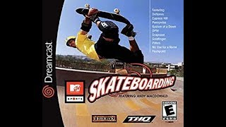 DREAMCAST NTSC GAMES: MTV Sports Skateboarding Featuring Andy MacDonald