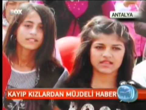 KAYIP KIZLARDAN MÜJDELİ HABER,fox Tv,  Temel Tacal Antalya