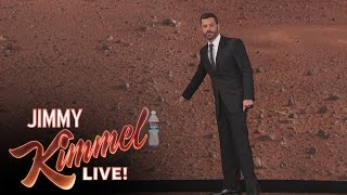 Matt Damon Interrupts Jimmy Kimmel's Monologue