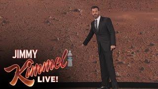 Matt Damon Interrupts Jimmy Kimmel's Monologue