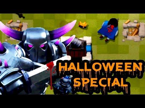 PEKKA KILLS / Halloween SPECIAL / Friday The 13th / Clash Royale