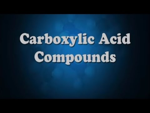 All You Need To Know About Carboxylic Acid Compounds - Iken Edu