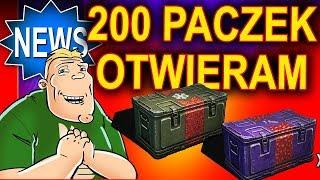 Hallack otwiera 200 paczek do World of Tanks - ale urwał!
