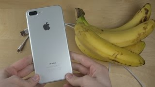 What Happens When You Connect an iPhone 7 to a Banana?