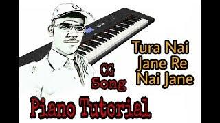 #छत्तीसगढ़ी Ae Tura Nai Jane Re Nai jane #CG Song #Piano Tutorial