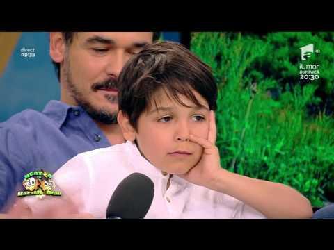 Fiul lui Răzvan pe urmele tatălui său Neatza cu Razvan si Dani