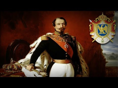 """Second French Empire (1852–1870) """"Hymne à Napoléon III et à son vaillant peuple"""""""