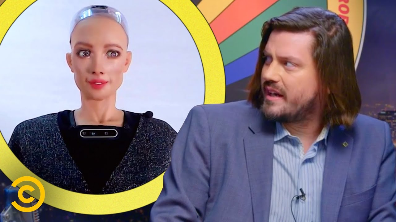 Will Robots Take Over in the Year 2045? – The Trevor Moore Show