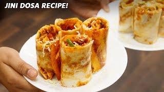 Dosa Recipe - Cheese Mumbai Street Pizza