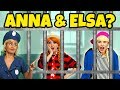 FROZEN ELSA AND ANNA LOCKED UP BY THE FASHION POLICE? (Rapunzel Gets them Out) Totally TV