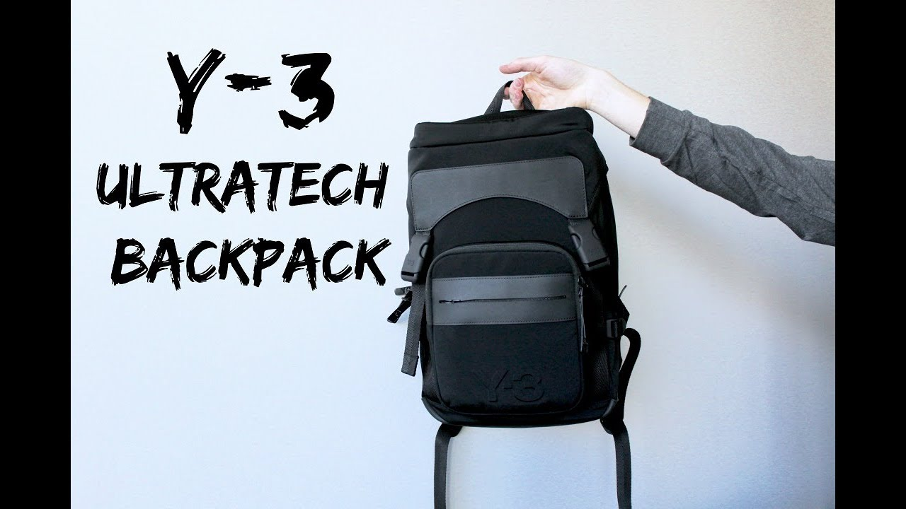 182931252a Y-3 ULTRATECH BACKPACK