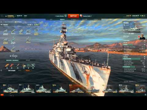 World of Warships - USS Omaha Ship Review
