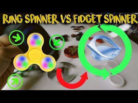 Ring Spinner v Fidget Spinner   TheRempongsHD