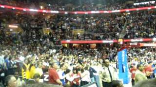Crowd at Cavs vs. Kings