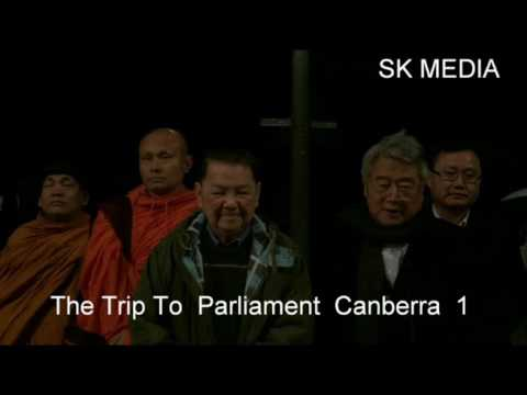 sk media report by korb sao  Trip To Parliament Canberra 1