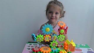 Музыкальный конструктор Шестеренки Обзор игрушек Toy Bricks Eden Toys review