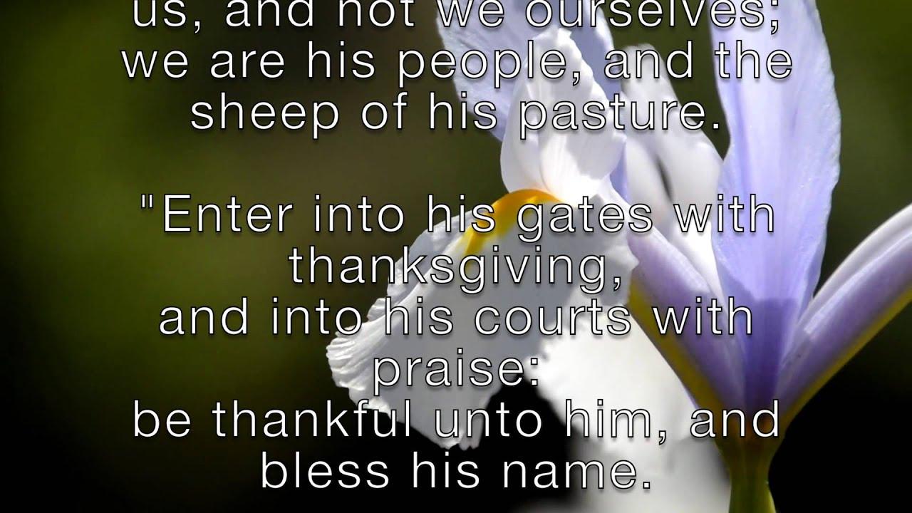 christian thanksgiving songs youtube