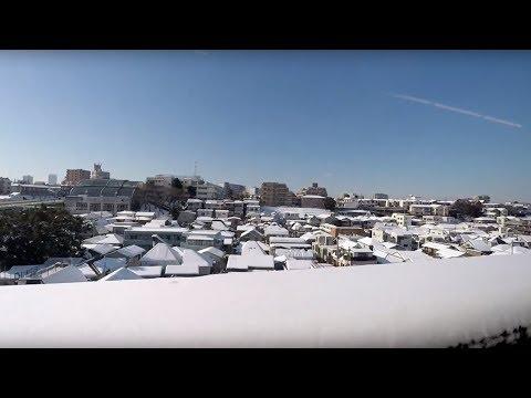 北陸新幹線 東京→長野 2018/01/23 首都圏大雪の翌朝