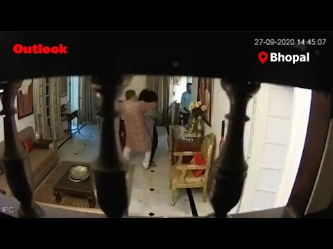 Shocking Video Showing Bhopal IPS Officer Assaulting Wife Goes Viral