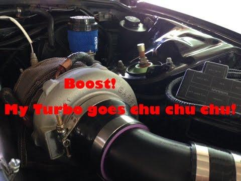 Garrett GT3076R turbo bearing test by Kenny Placide