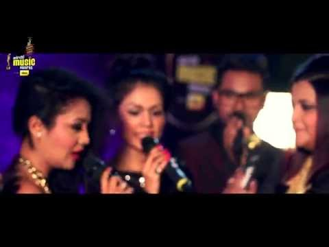 "Neha Kakkar sings London Thumakda with Sonu Kakkar at #MMAwards Red Carpet | ""A Cappella"" Version Mp3"