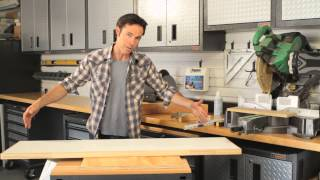 How To Build Shelving For Garages : Home Storage & Organizing